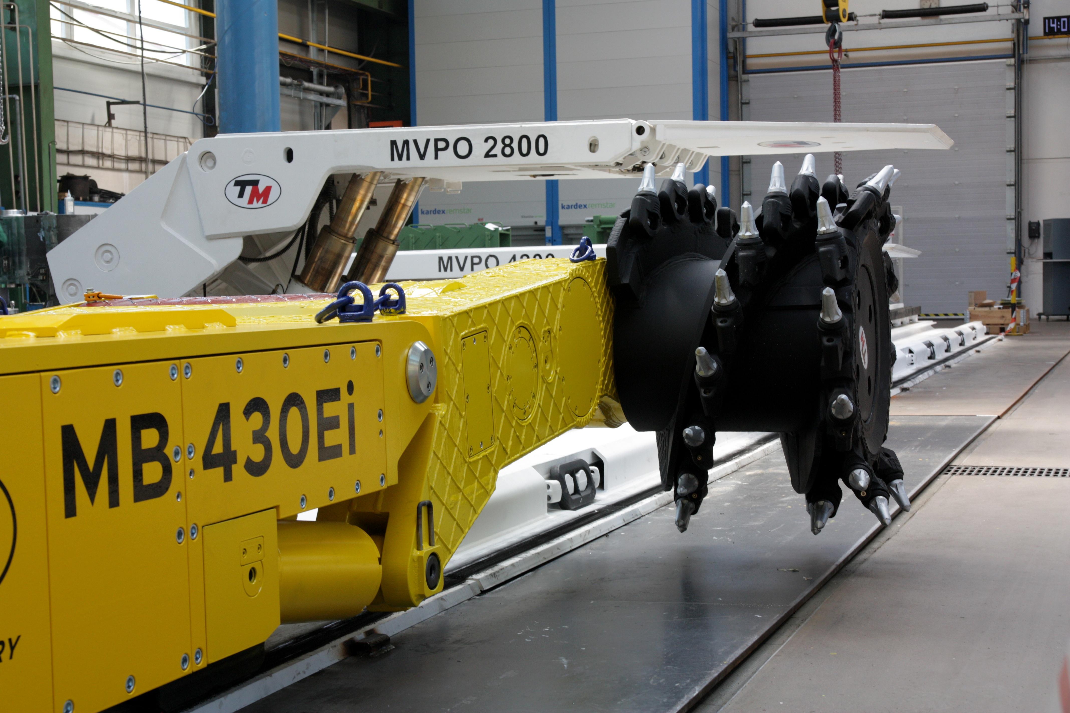 MB 430Ei - generace nových kombajnů