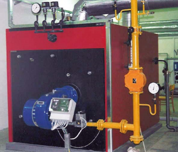 Low-pressure steam boilers for gaseous and liquid fuels THP-P - Foto