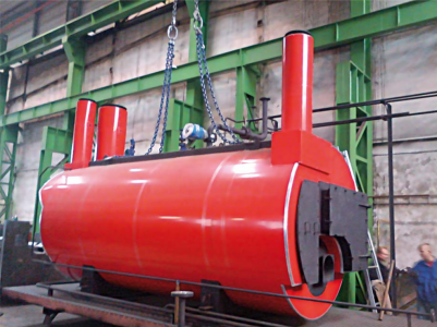Flue gas boilers for the use of waste heat from flue gases - Foto